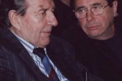 Janusz Gajos i Wieńczysław Gliński