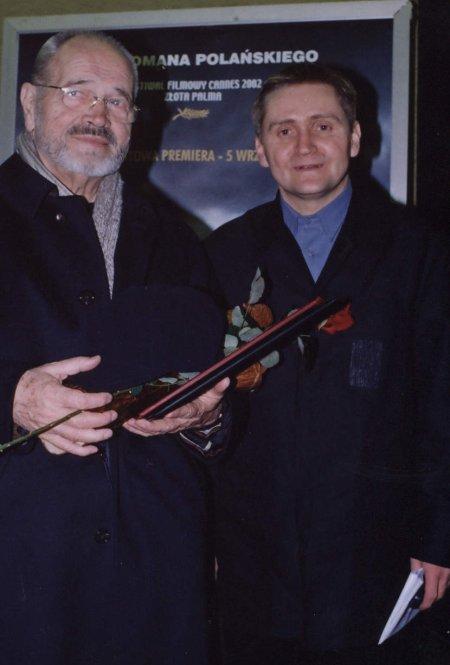 Sylwester Chęciński i Rafał Górecki