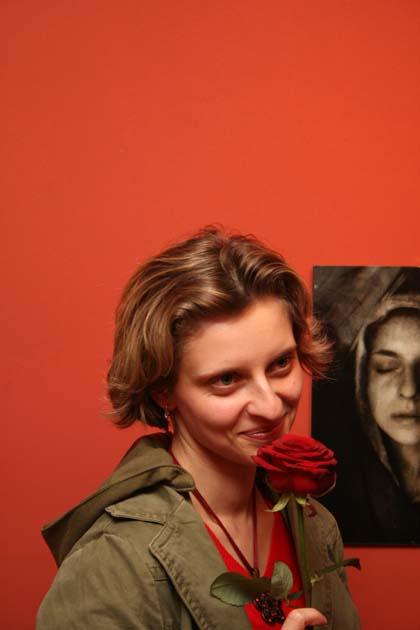 Agnieszka Jaros, autorka wystawy Opowieść Życia