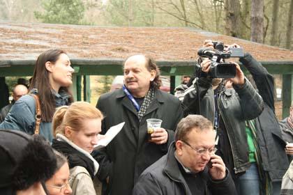 Aleksandra Różdżyńska, Wojciech Szczudło, Andrzej Domagalski i za kamerą Piotr Żukowski