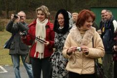 Agnieszka Jaros, Marzena Jagiełka i Małgorzata Górska