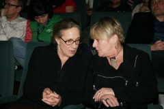 Maja Komorowska i Barbara Krzepkowska