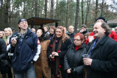 Piotr Górny, Helena Borlik, Janina Krawiarz i Wojciech Szczudło