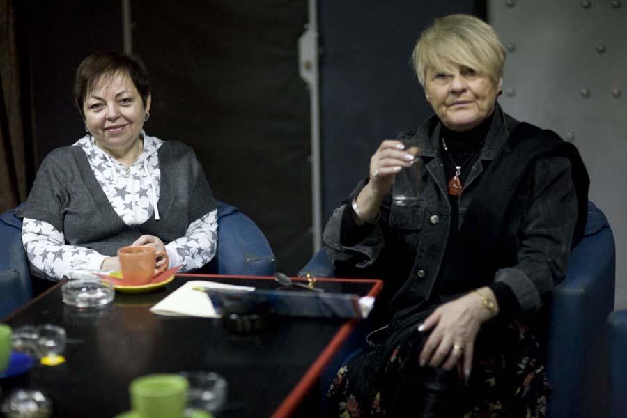 Janina Krawiarz i Barbara Krzepkowska