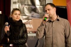 Aleksandra Kisio, Robert Wrzosek (konferansjerzy)