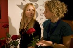 Magda Kosińska, Iga Pilarska (koordynatorki sali kinowej)